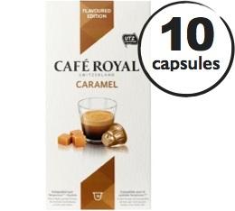 Capsules Caf� Royal Caf� Caramel x 10 pour Nespresso