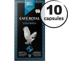 Capsules Café Royal So Colombia x 10 pour Nespresso