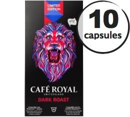 Capsules Caf� Royal Dark Roast x 10 pour Nespresso