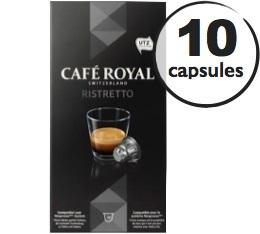 Capsules Café Royal Ristretto x 10 pour Nespresso