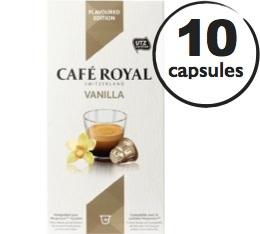 Capsules Caf� Royal Caf� Vanilia x 10 pour Nespresso