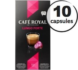 Capsules Caf� Royal Lungo Forte x 10 pour Nespresso