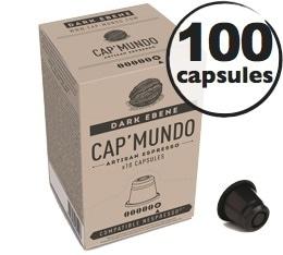 Capsules Dark Eb�ne x100 CapMundo pour Nespresso