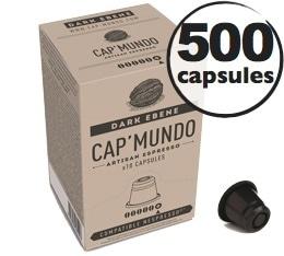 Capsules Dark Eb�ne x500 CapMundo pour Nespresso