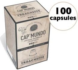 Capsules Yrgacheffe x100 CapMundo pour Nespresso