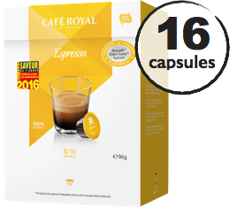 Capsules Dolce Gusto� compatibles Caf� Royal Espresso x 16