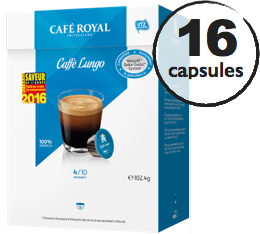 Capsules Dolce Gusto� compatibles Caf� Royal Lungo x 16