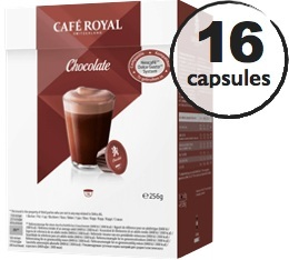 Capsules Dolce Gusto® compatibles Café Royal Chocolat x 16