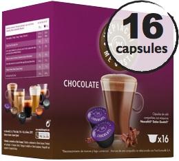 Capsules compatibles Dolce Gusto® Oquendo Mepiachi Chocolate x 16