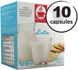 Capsules Dolce Gusto� compatibles Lait x10