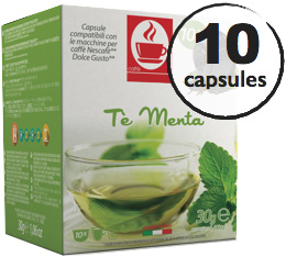 Capsules Dolce Gusto� compatibles Th� Vert Menthe x10