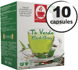 Capsules Dolce Gusto� compatibles Th� Vert Earl Grey x10