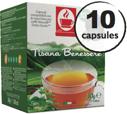 Capsules Dolce Gusto� compatibles Tisane Bien-�tre x10