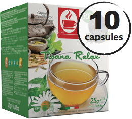 Capsules Dolce Gusto® compatibles Tisane Relax x10