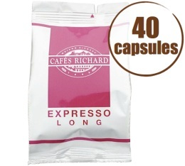 Caf� Capsules x40 Expresso FAP Long - Caf�s RICHARD
