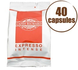 Caf� Capsules x40 Expresso FAP Intense - Caf�s RICHARD