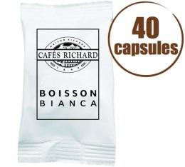 Capsules FAP Boisson Bianca x40 - Cafés RICHARD