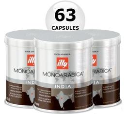 63 x Capsules illy Iperespresso Monoarabica Inde