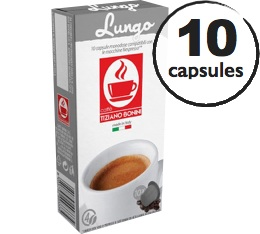 Capsules compatibles Nespresso® Lungo 100% Arabica x10