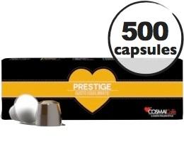 Capsules Prestige x500 Cosmai pour Nespresso