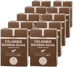 Capsules Bourbon rouge Colombie x100 Terres de Caf� Pour Nespresso