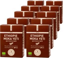 Capsules Yeti bio Ethiopie x100 Terres de Café Pour Nespresso