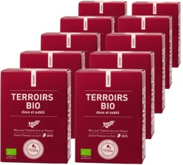 Capsules Assemblage Terroirs bio x100 Terres de Caf� Pour Nespresso