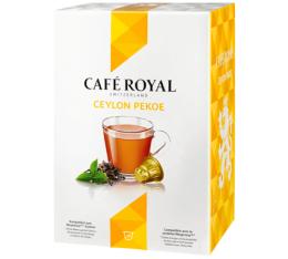 10 Capsules Thé Noir Ceylan compatibles Nespresso - Café Royal