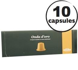 Capsules Onda d'Oro Caff� Mauro x10 pour Nespresso