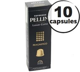 Capsules Pellini Magnifico x10 pour Nespresso