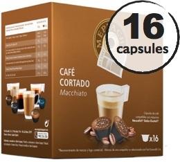 Capsules compatibles Dolce Gusto® Oquendo Mepiachi Macchiato x 16