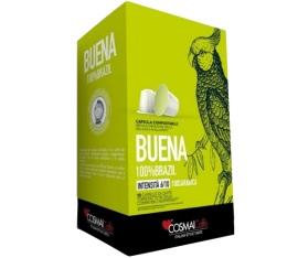 Capsules Buena x10 Cosmai Caffe pour Nespresso