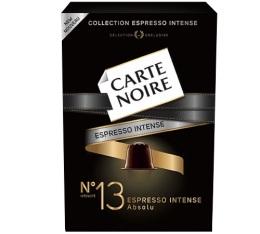 Capsules Carte Noire Espresso n°13 Absolu  x10 pour Nespresso
