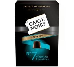Capsules Carte Noire Espresso n�7 Aromatique x10 pour Nespresso
