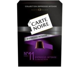 Capsules Carte Noire Espresso n°11 Irrésistible x10 pour Nespresso