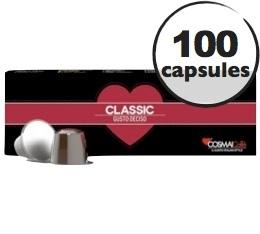 Capsules Classic x100 Cosmai pour Nespresso