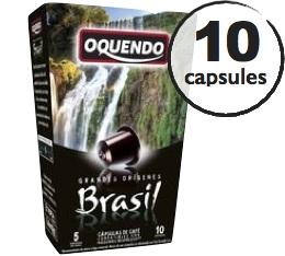 Capsules Origine Br�sil Oquendo x10 pour Nespresso