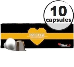 Capsules Prestige x10 Cosmai pour Nespresso