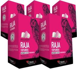 Capsules Raja x50 Cosmai Caffe pour Nespresso