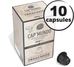 Capsules Yrgacheffe x10 CapMundo pour Nespresso
