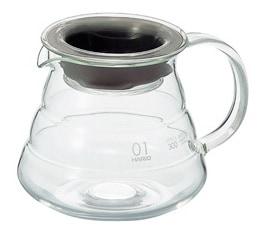 Carafe 1 à 3 tasses - Support en verre pour V60
