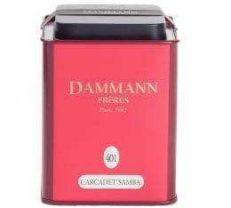 Bo�te Dammann n�401 - Infusion Carcadet Samba - 100gr