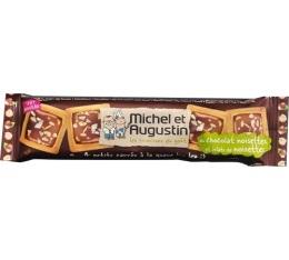 4 petits carr�s au chocolat au lait & noisettes - Michel et Augustin