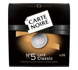 Dosettes souples n�5 Caf� Classic x36 - Carte Noire