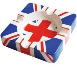 Cendrier carr� g�ant c�ramique London