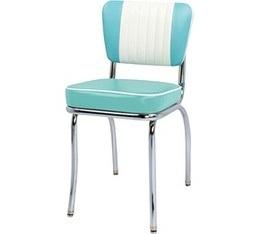 Chaise de Diner Malibu SH Bleu/Blanc