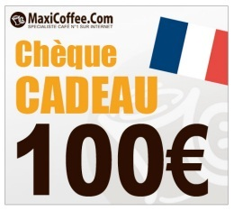 Ch�que Cadeau Maxicoffee 100�