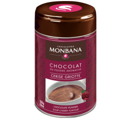 Chocolat en poudre aromatis� Cerise Griotte 250 g Monbana