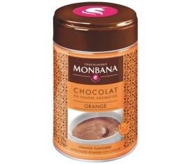 Chocolat en poudre aromatis� Orange 250 g Monbana