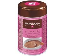 Chocolat en poudre aromatis� Speculoos 250 g - Monbana